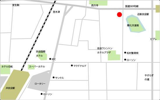 BIDAN奈良駅前店の地図