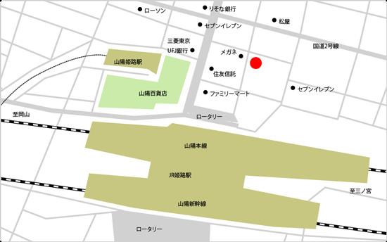 BIDAN姫路みゆき通店の地図